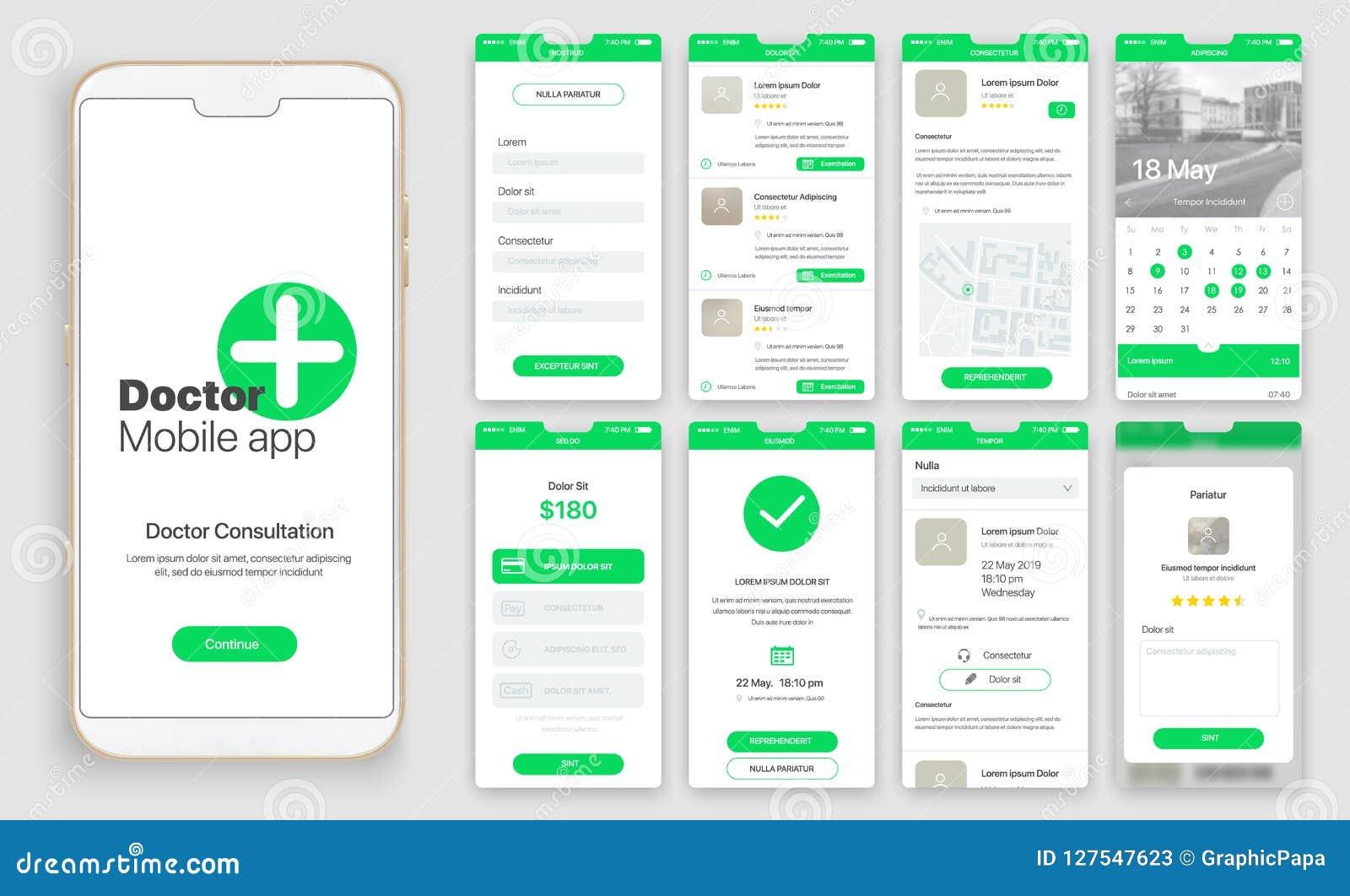 Projeto de app móvel, UI, UX, GUI
