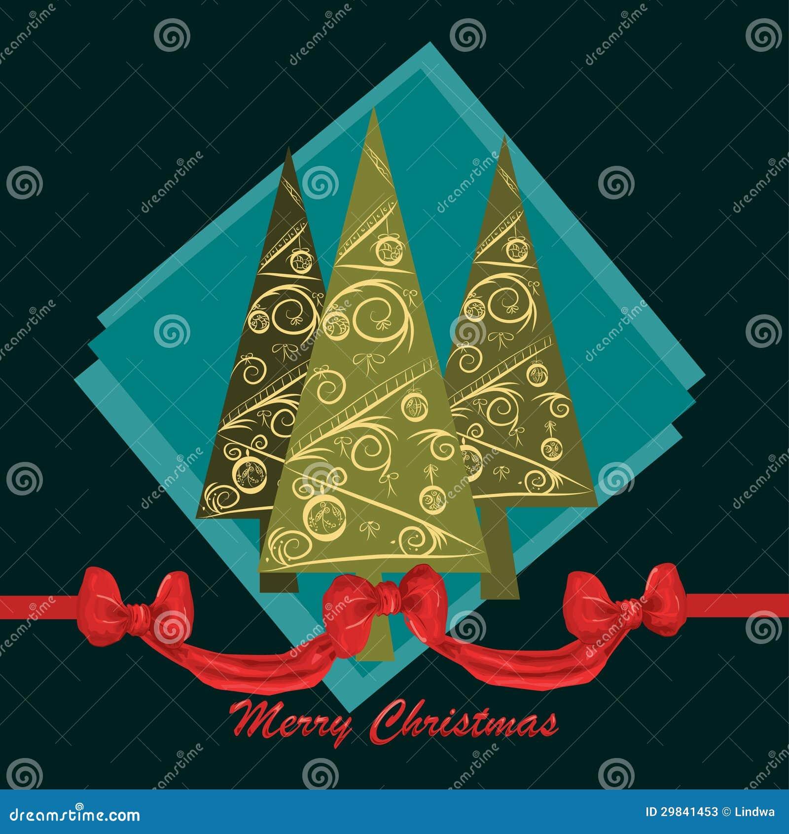 Projeto de cartão do Natal