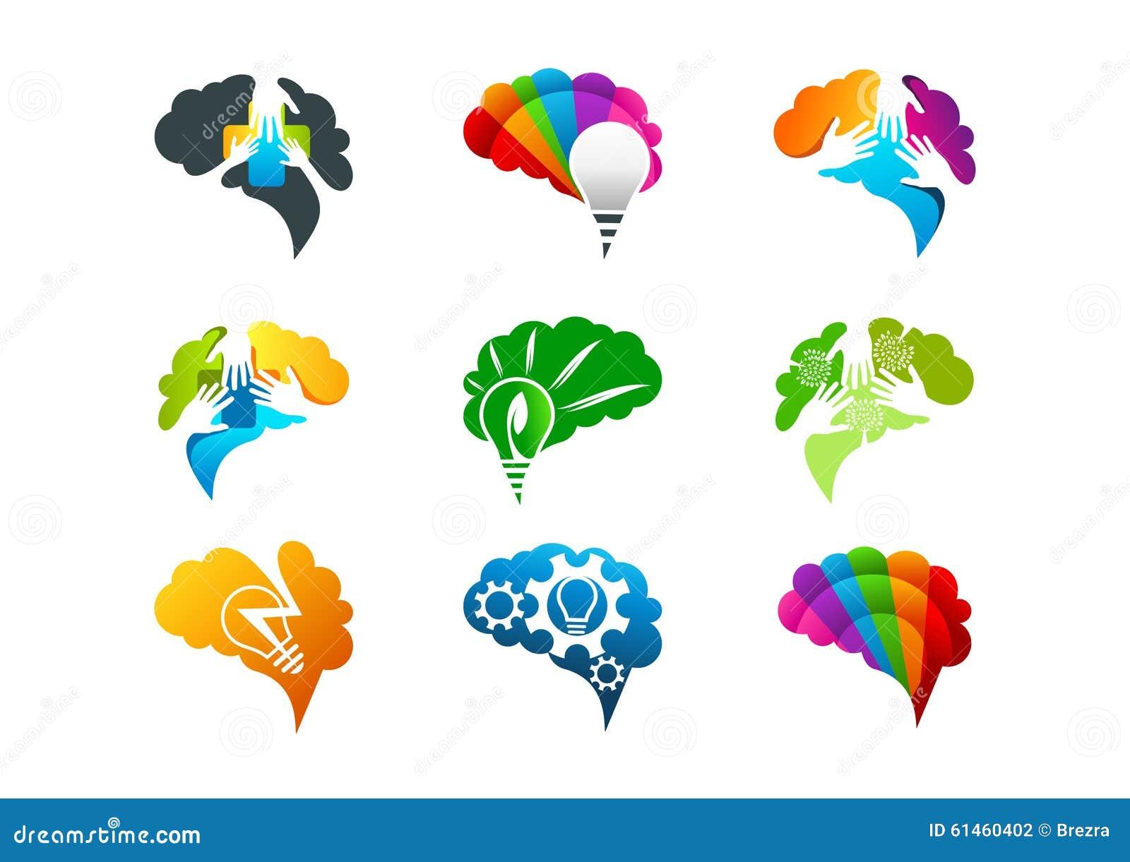 Projeto de conceito do cérebro