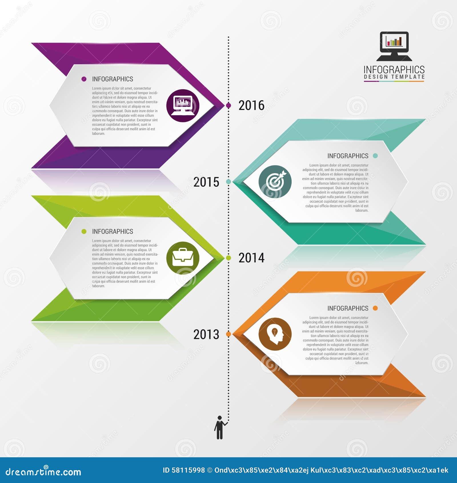 Projeto do infographics do espao temporal pode ser usado para a download comp ccuart Gallery