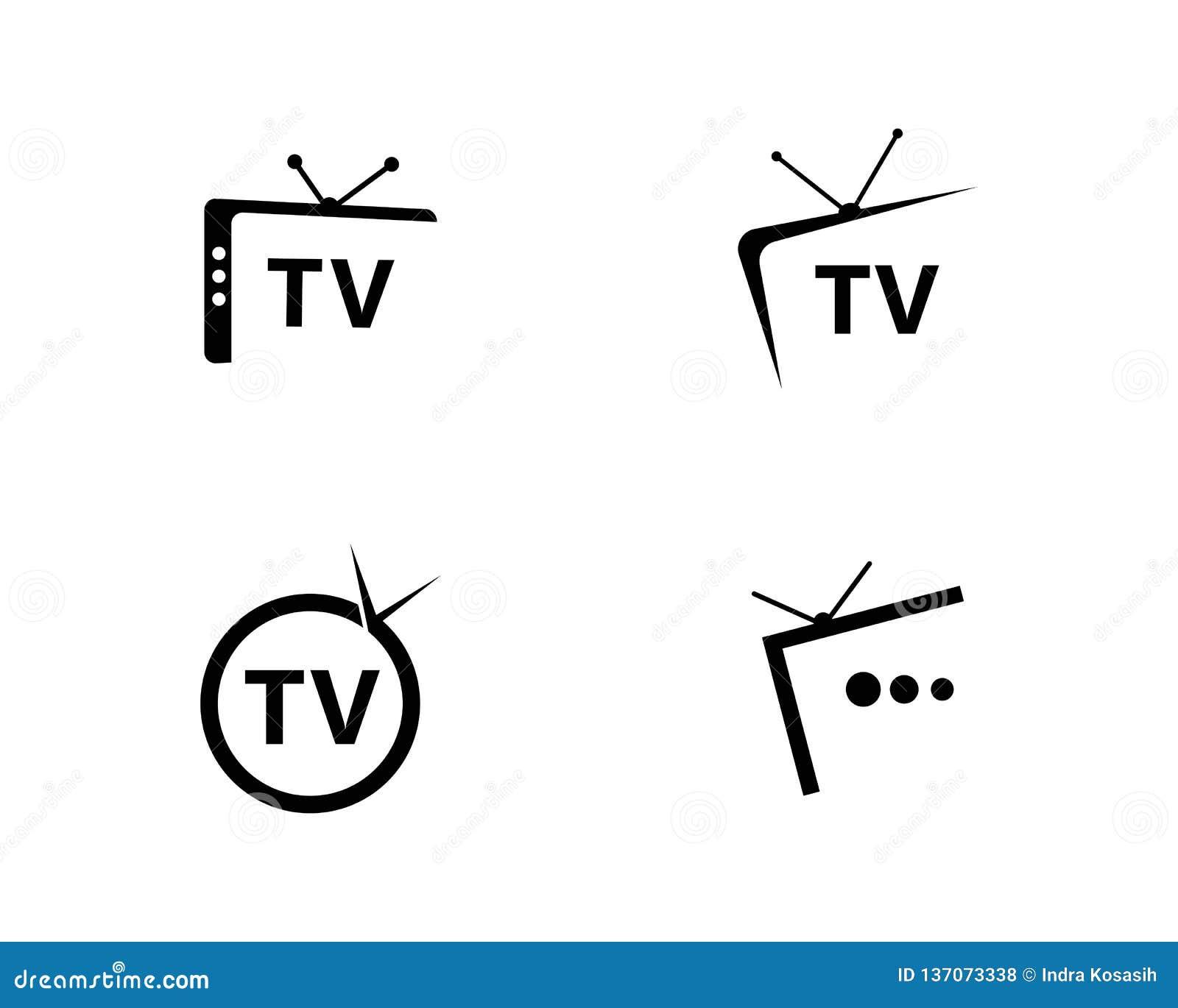 Projeto do logotipo da tevê