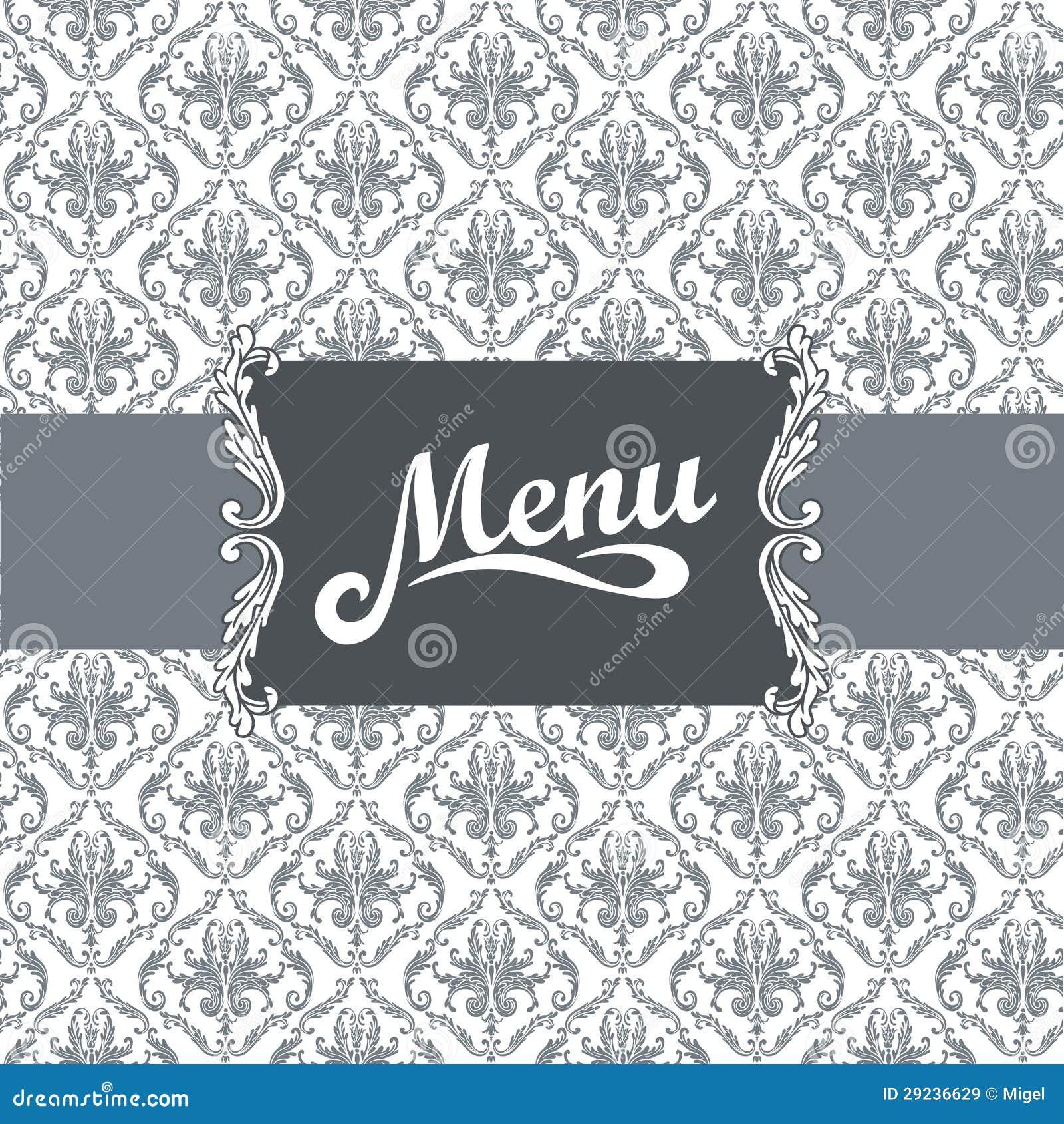 Download Projeto Do Menu Do Restaurante Ilustração do Vetor - Ilustração de retro, coma: 29236629