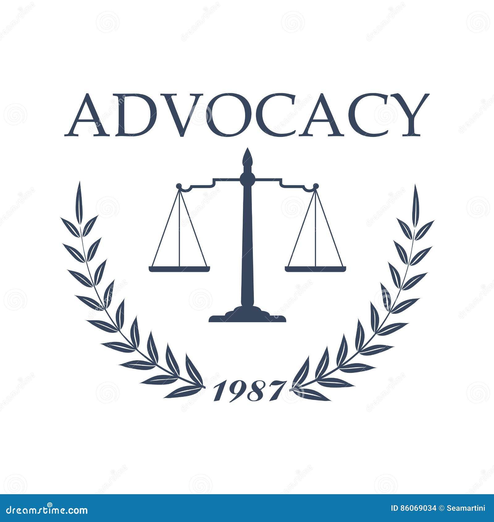 Projeto Do Símbolo Do Escritório E Da Empresa De Advocacia De ...