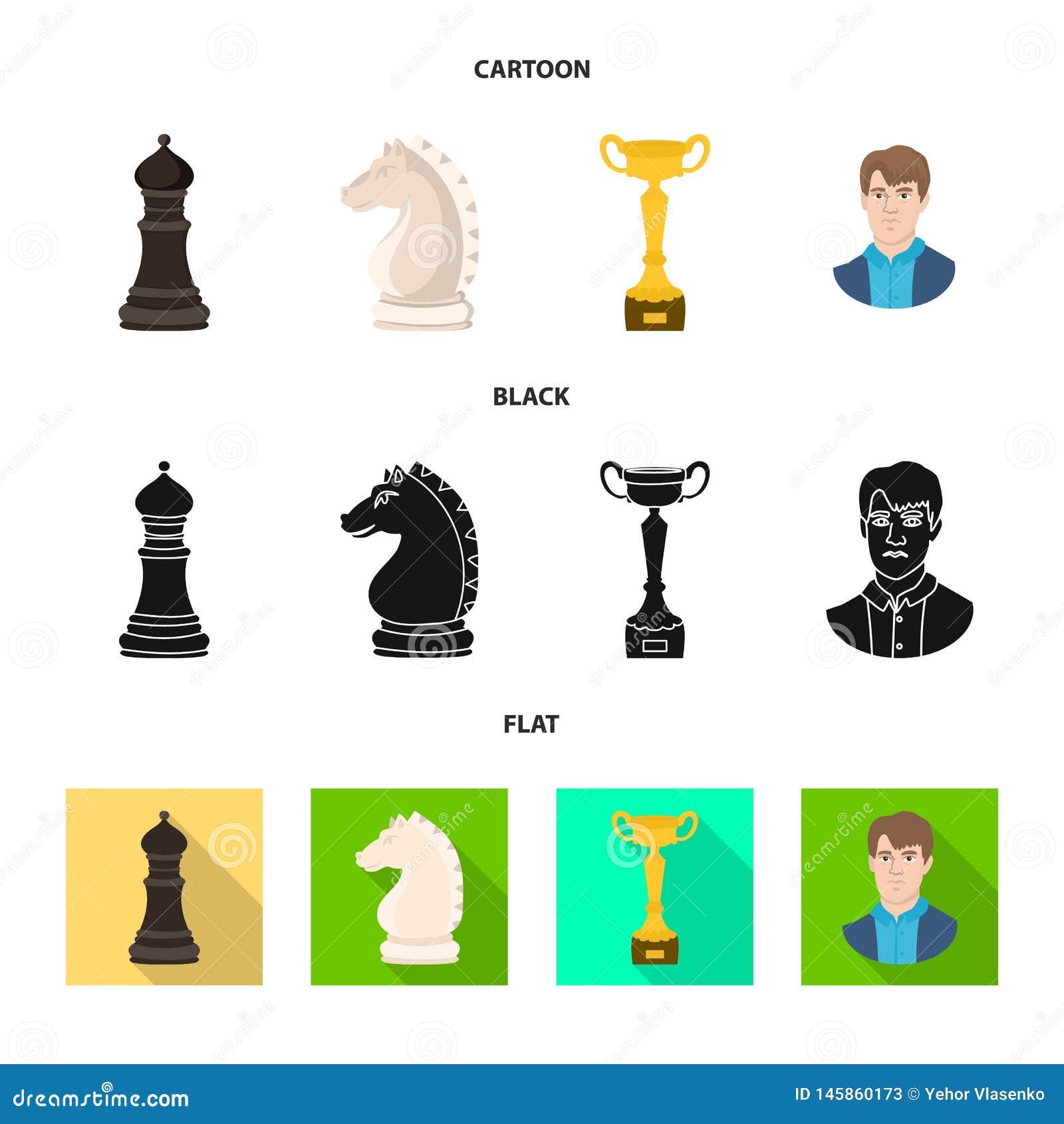 Projeto do vetor do checkmate e do logotipo fino Ajuste do s?mbolo de a??es do checkmate e do alvo para a Web