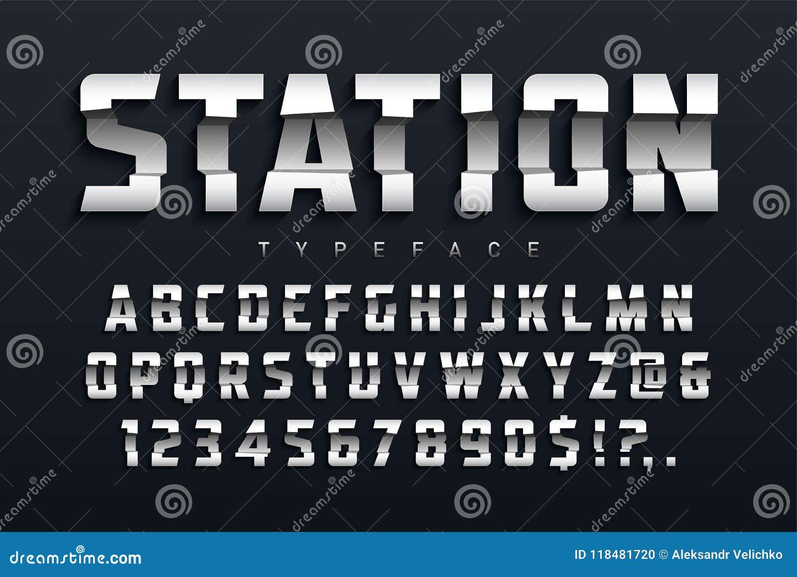 1302def3f Projeto Futurista Do Caráter Tipo Da Exposição Da Estação