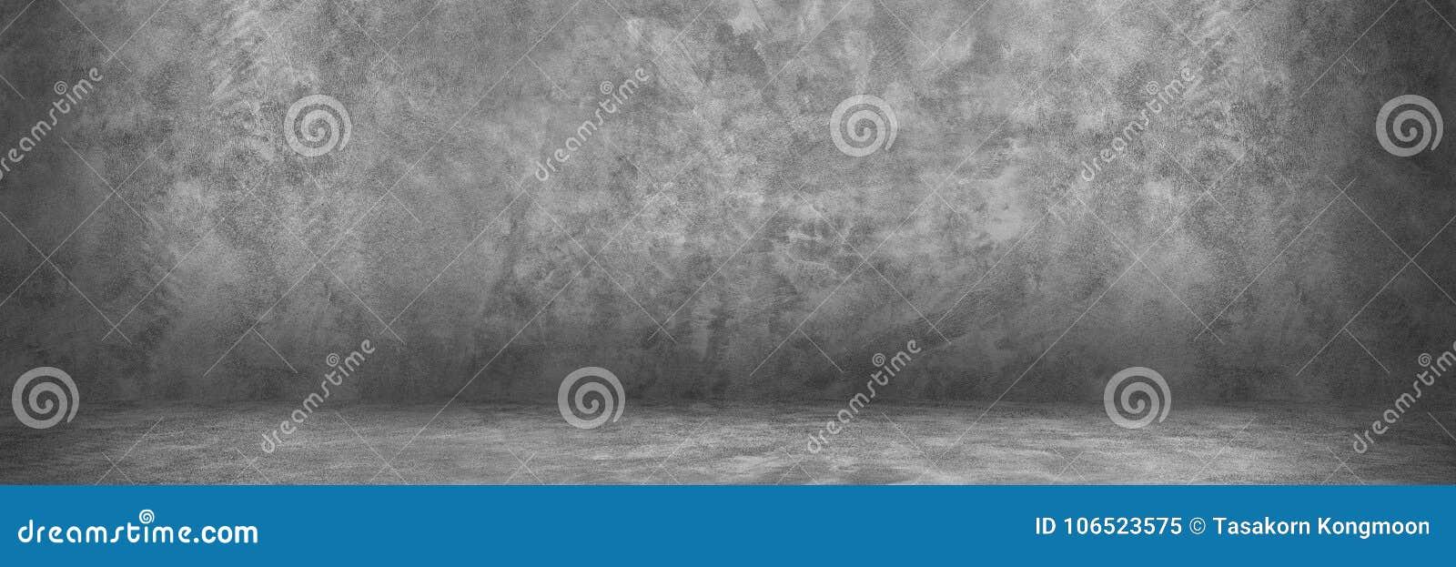 Projeto horizontal no cimento e no muro de cimento com sombra para o pa