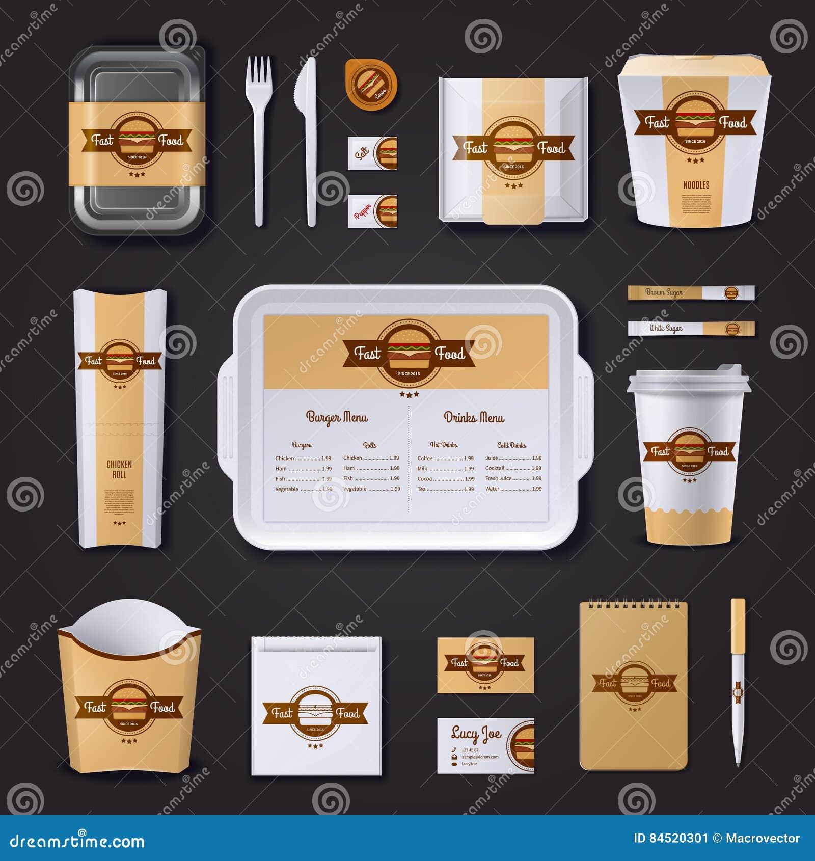 Projeto incorporado de restaurante de Fastfood