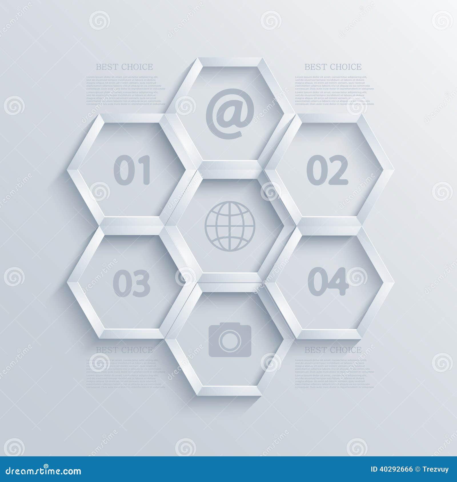 Projeto infographic moderno do elemento do vetor. Eps10
