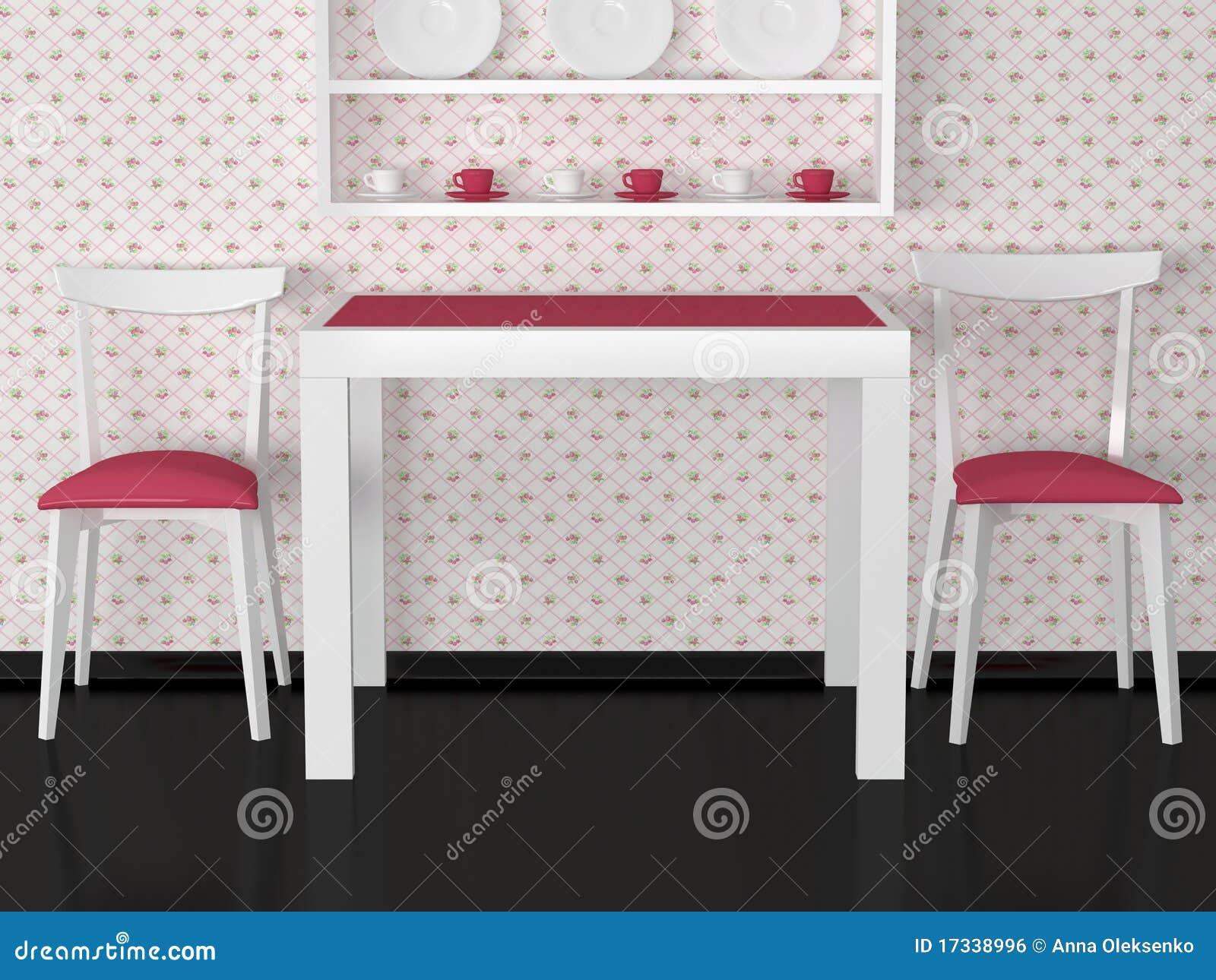 Projeto Interior Da Cozinha Do Vintage Imagem de Stock Royalty Free  #82A229 1300 1065
