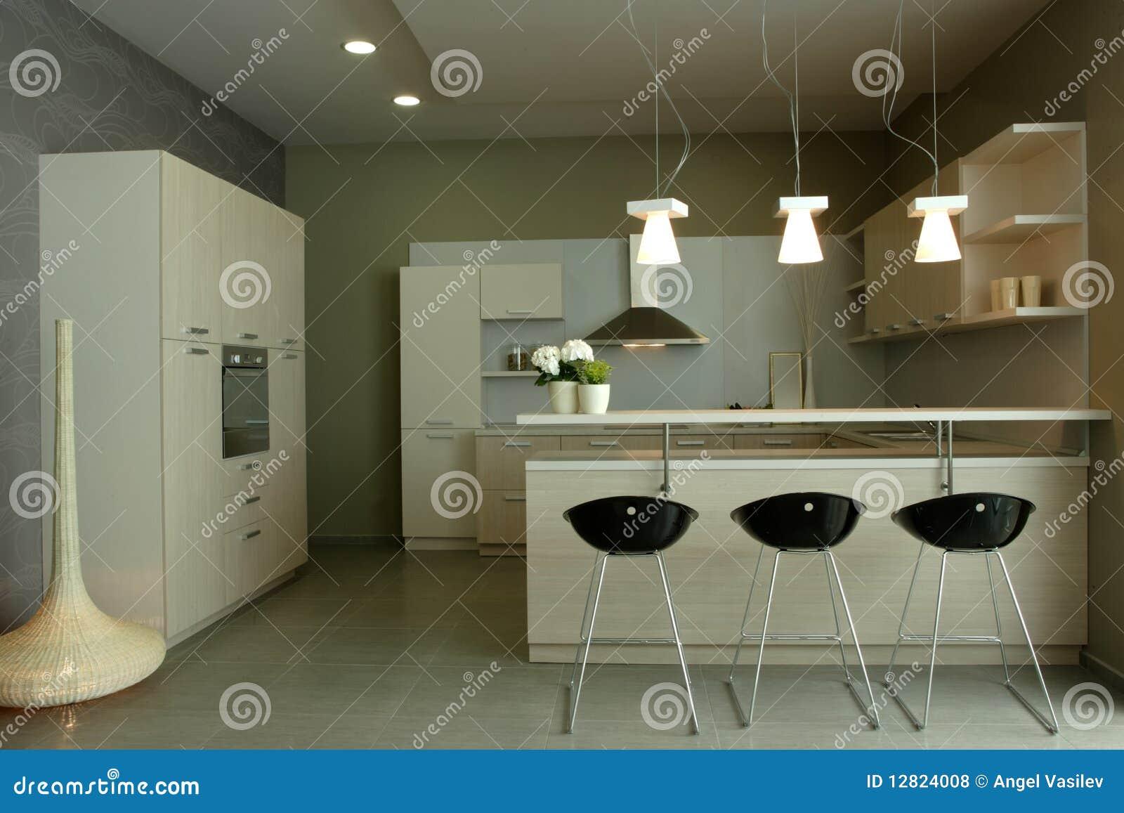 #81A229 Projeto Interior Da Cozinha Elegante E Luxuosa. Fotos de Stock Royalty  1300x957 px Projete Minha Própria Cozinha_914 Imagens