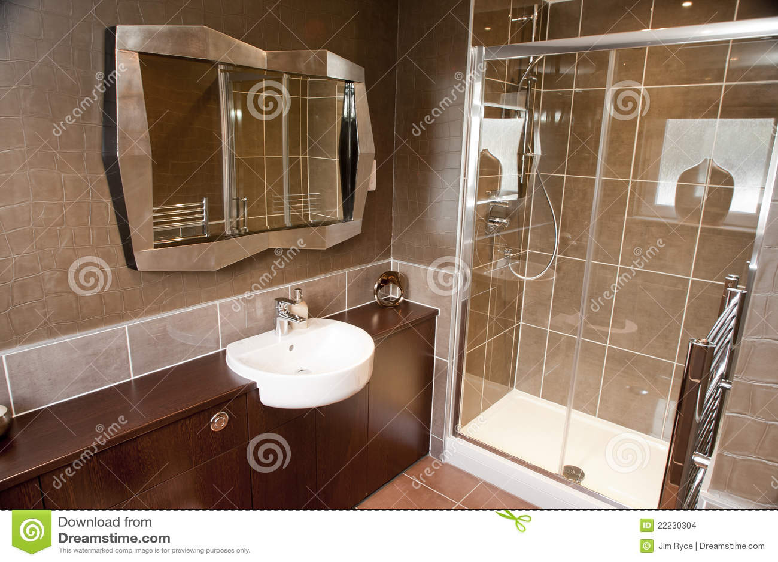 Projeto interior de um banheiro moderno. #86AB20 1300 957