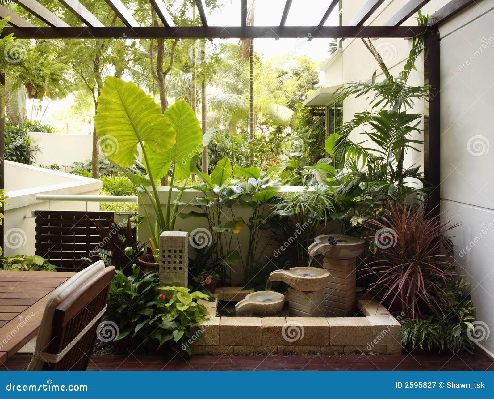Projeto interior - jardim