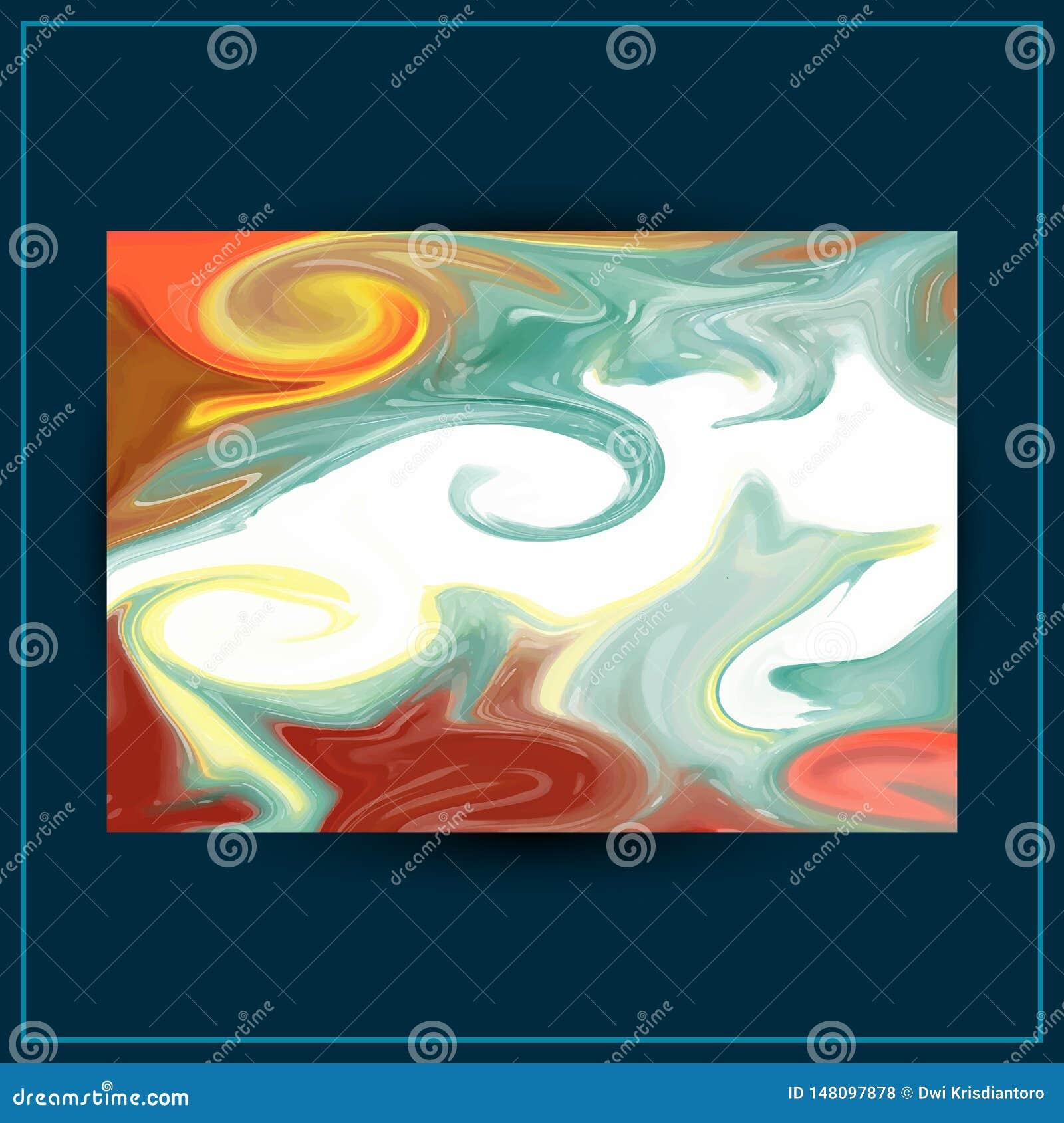 Projeto l?quido do fundo do m?rmore da pintura Textura do m?rmore do vetor do sum?rio pode ser usado como um fundo na moda para o
