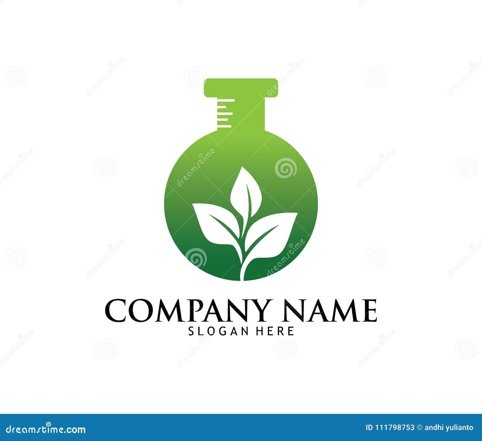 Projeto médico do logotipo do laboratório da farmácia da droga do cannabis da marijuana