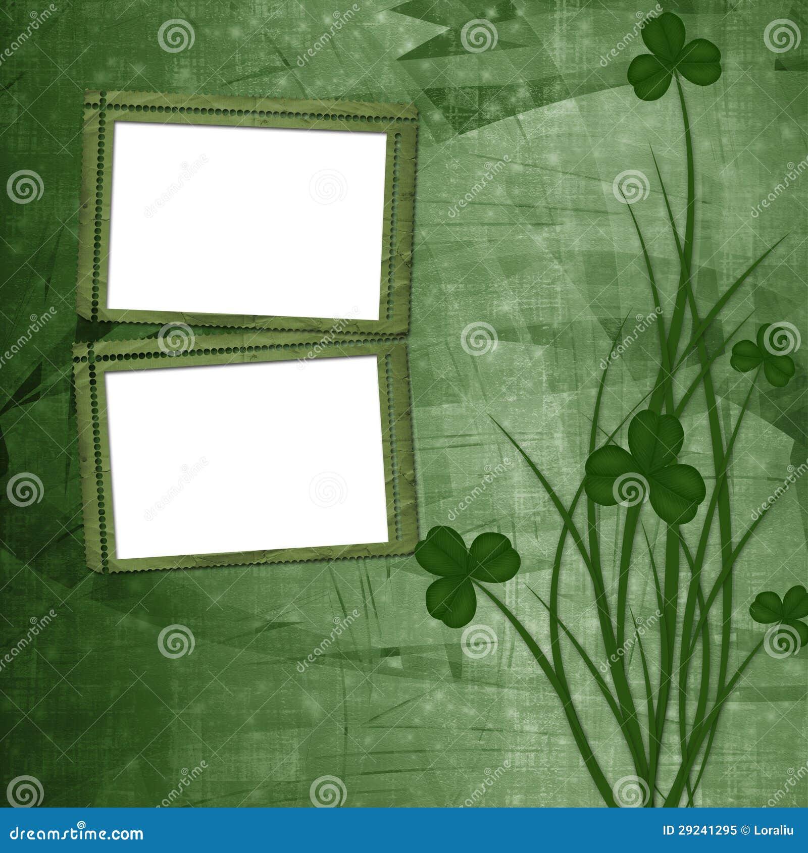 Download Projeto Para O Dia De St Patrick Ilustração Stock - Ilustração de trevo, cultura: 29241295