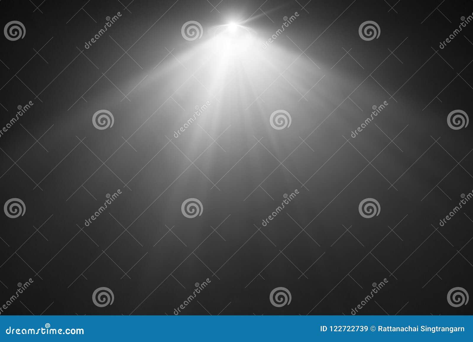 Projetor largo da lente da cor preto e branco projetor da textura do fumo abstraia o fundo