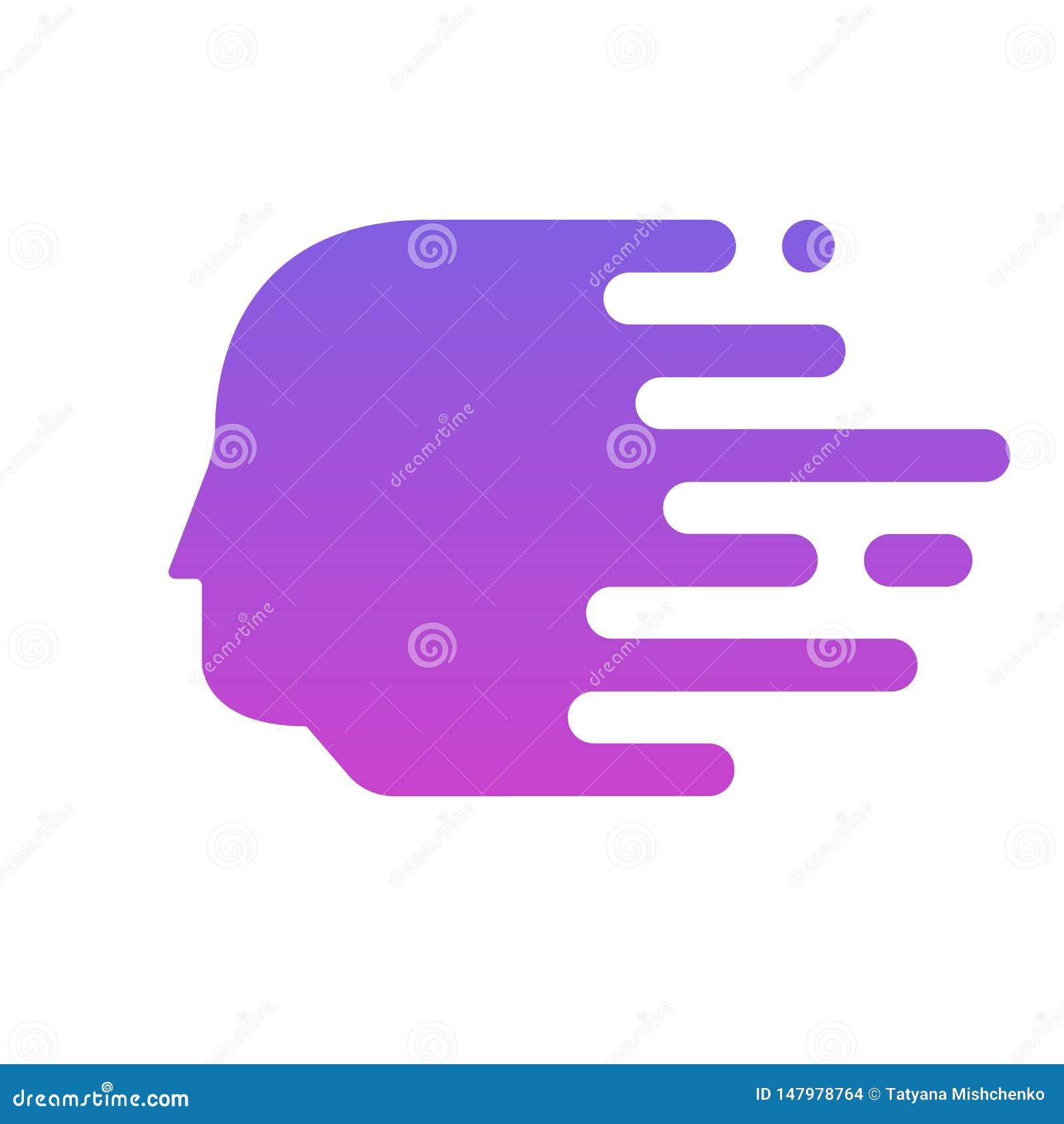 Projetos principais coloridos do logotipo