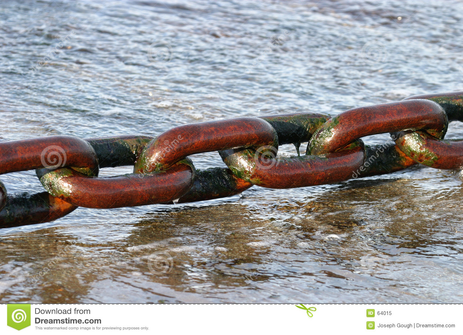 Prom łańcuszkowy ogromny mokre