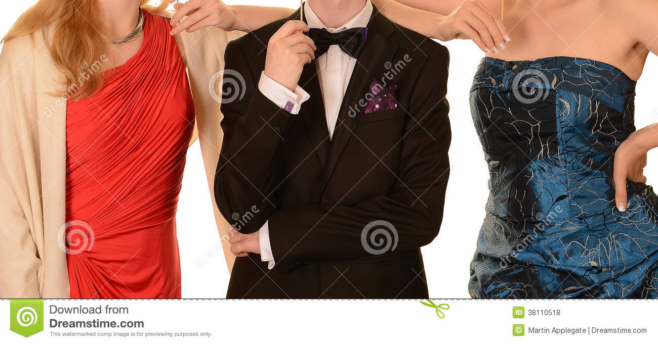 Prom Dresses and Black Formal Suit
