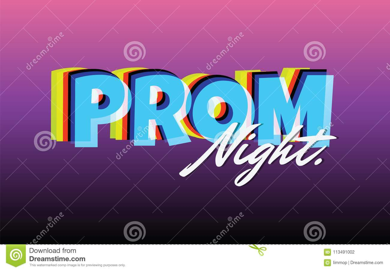 Prom night party background for poster or flyer vector design download comp stopboris Image collections