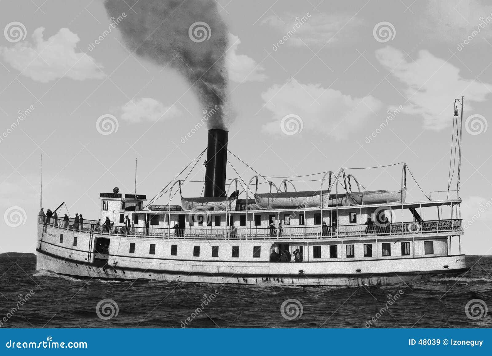 Prom łodzi