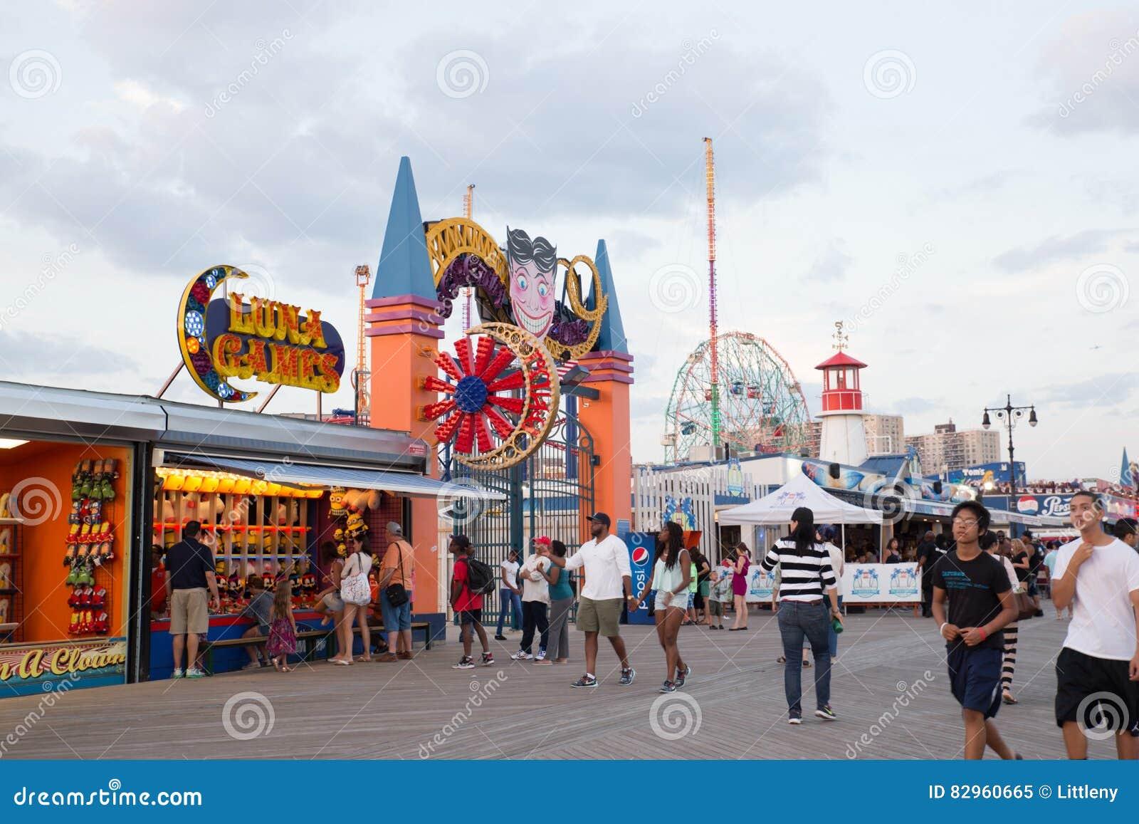 Promenade de Coney Island