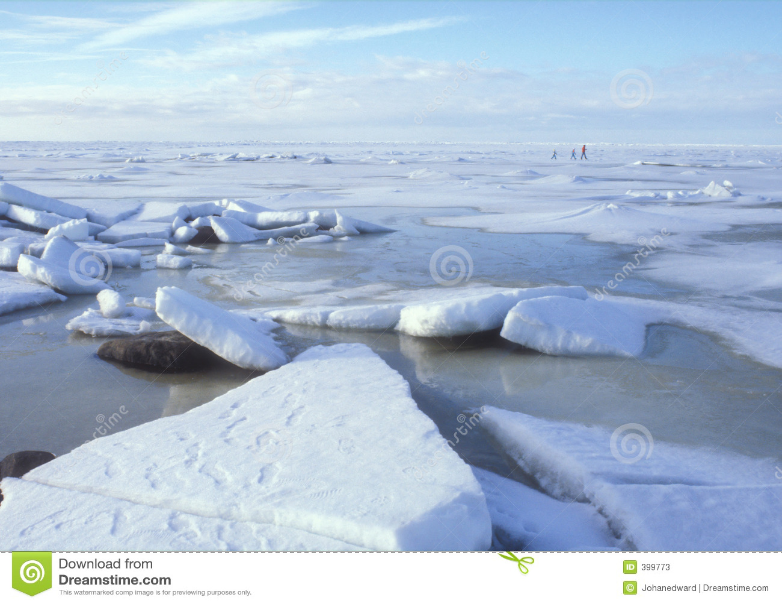 Promenade de glace