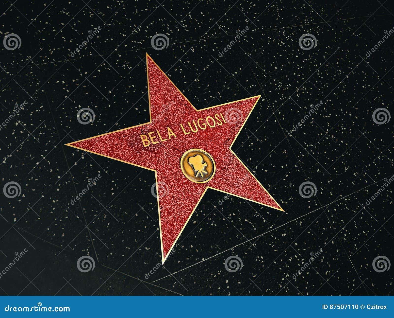 Promenade de la renommée, Bela Lugosi