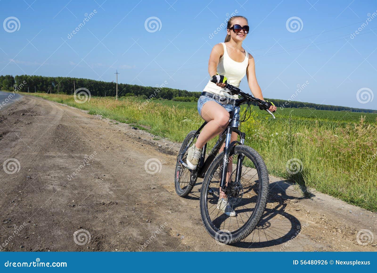 Promenade de vélo d été