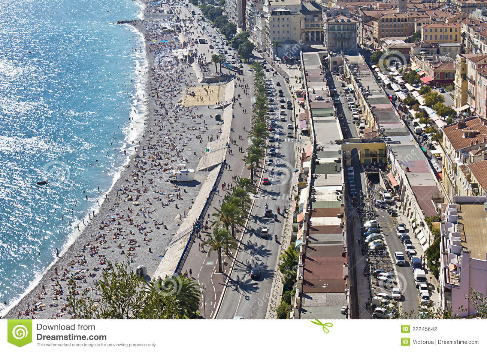 Promenade Des Angles Nice France