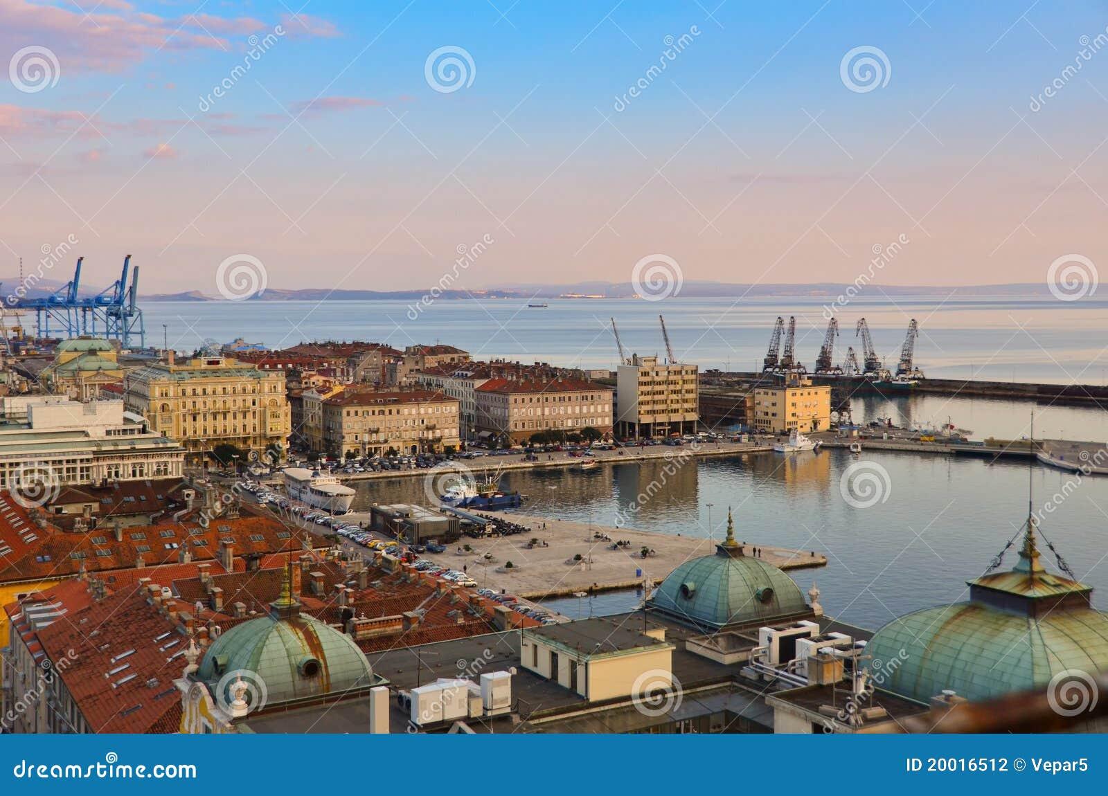Promenade von Rijeka