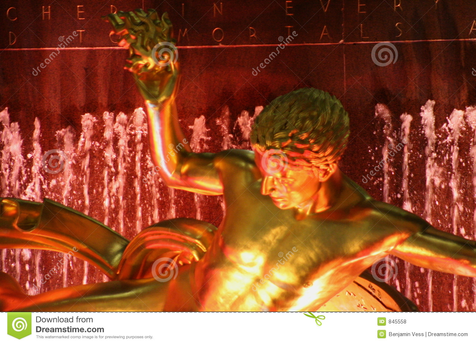 Promethus at Rockefeller Plaza