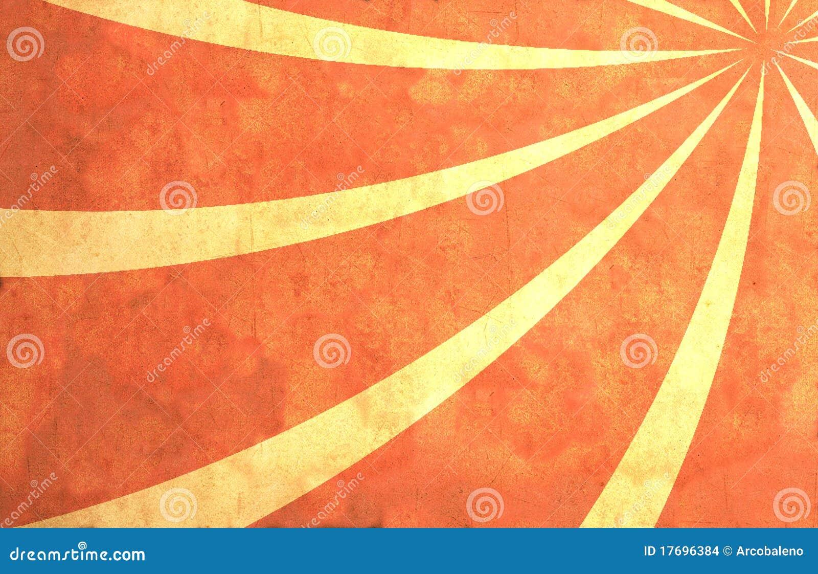 Promienia papierowy słońce