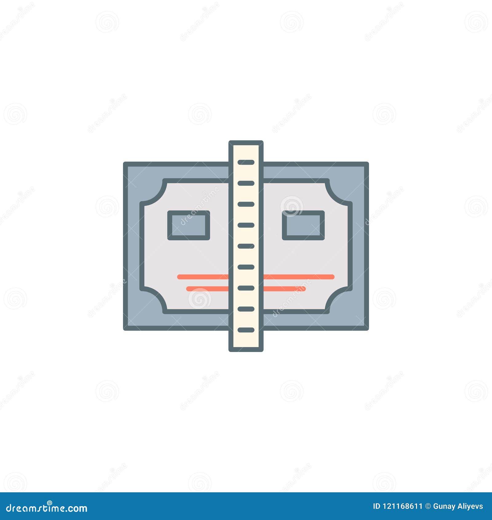 Promisoryjnej notatki półmroku stylu linii ikona Element bankowości ikona dla mobilnych pojęcia i sieci apps Półmrok promisoryjne