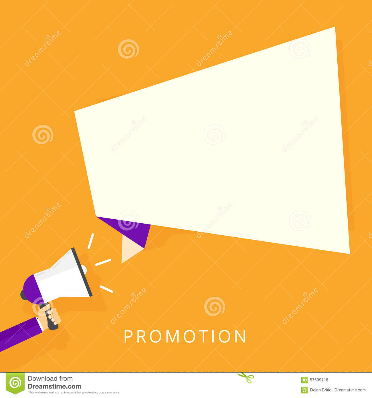 Promotion Stock Vector