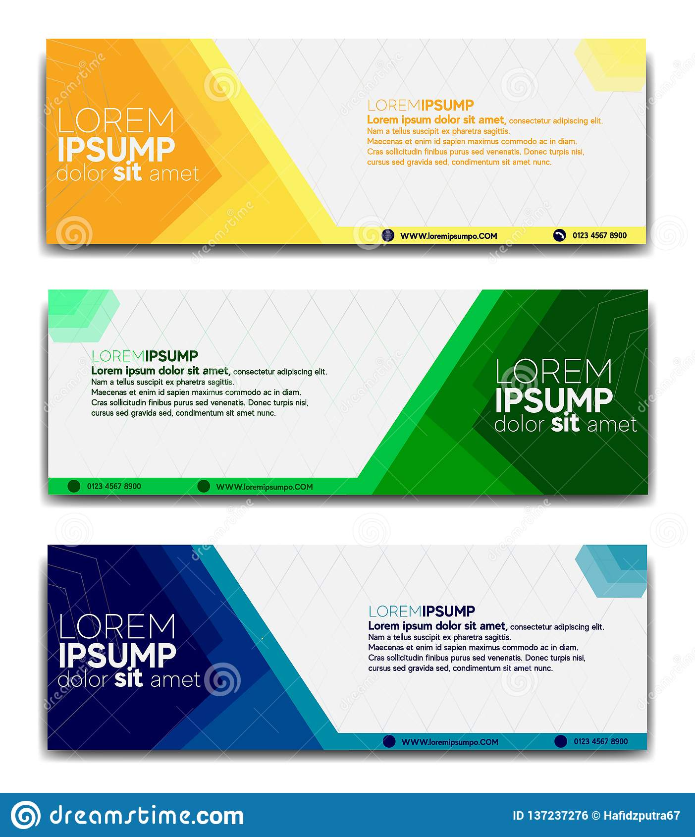 Promotional Banner Design Template 2019 Stock Vector Illustration Of Flatbanners Backgrounds 137237276