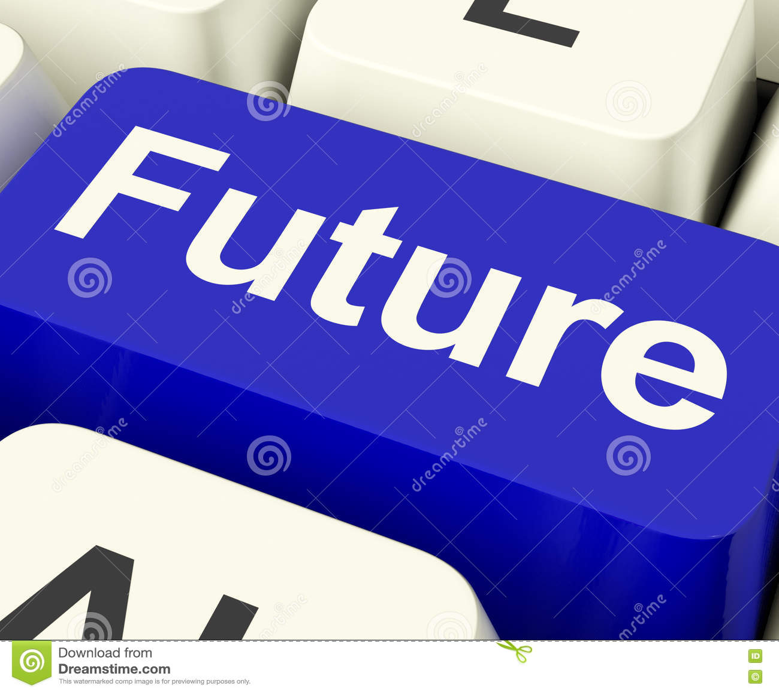 Pronóstico o profecía dominante futuro de la predicción que muestra