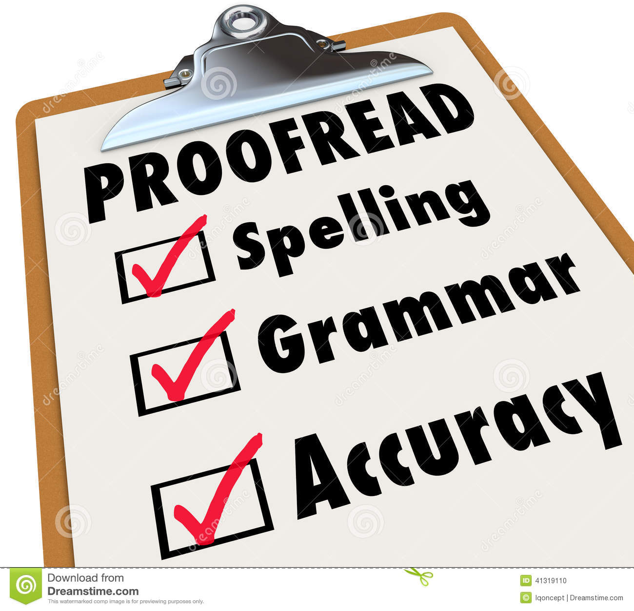 need help correcting essay proof clipboard checklist spelling grammar accuracy stock proof clipboard checklist spelling grammar accuracy