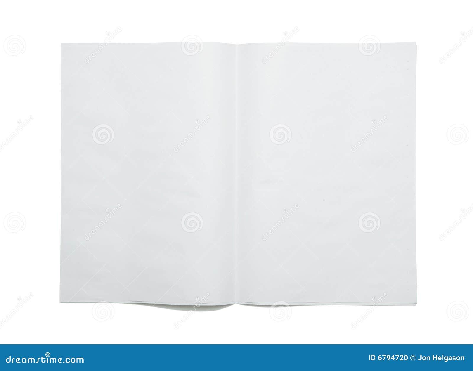 Propagação em branco do jornal