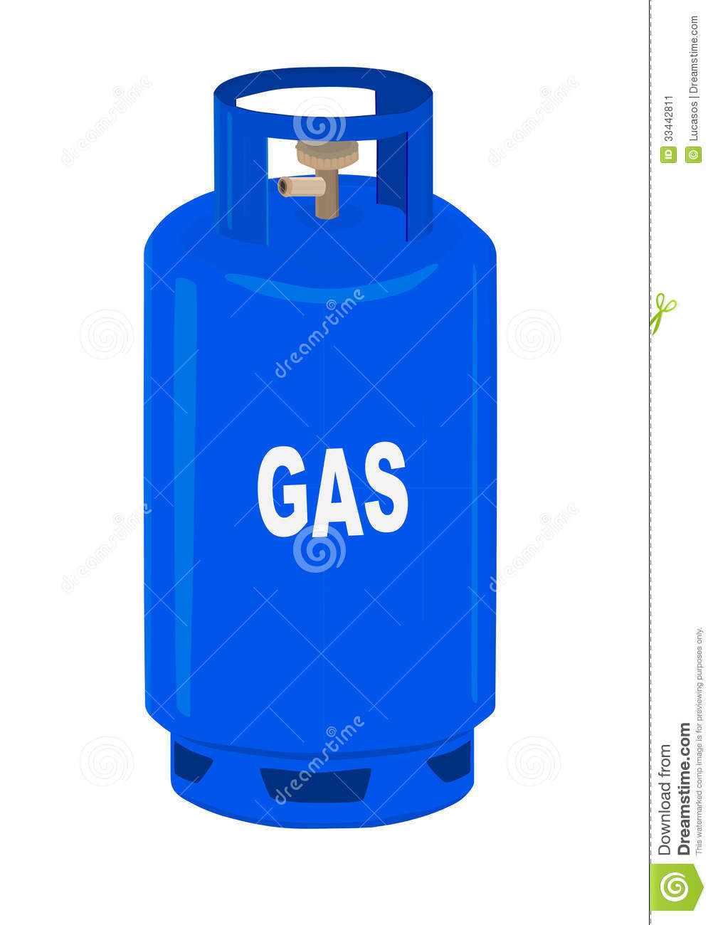 Propane gas cylinder. stock vector. Image of flame ...