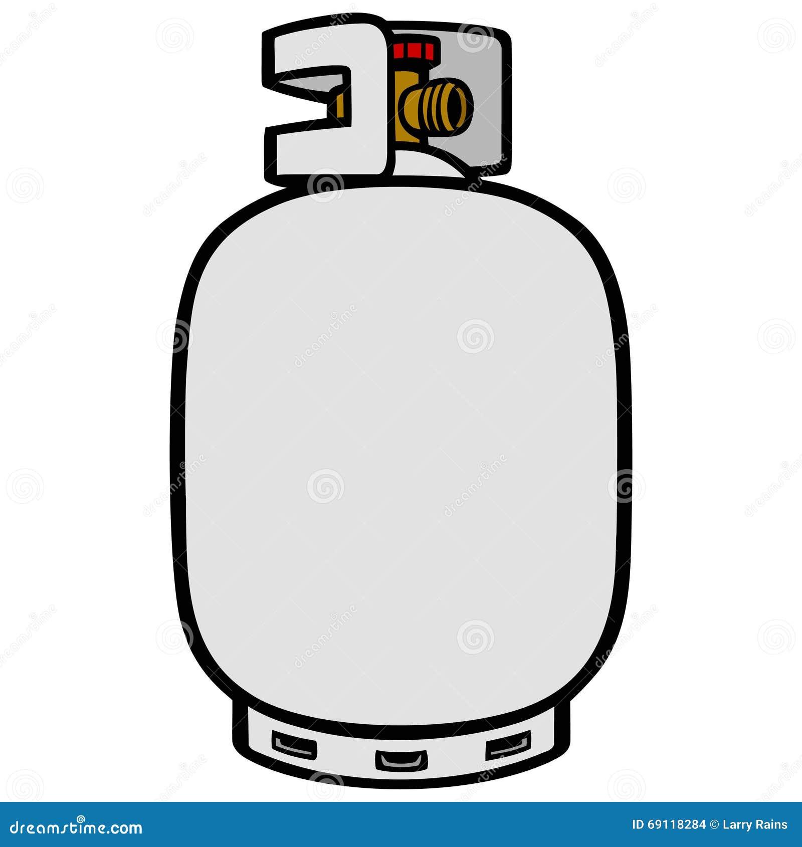 Propane Cylinders Clip Art