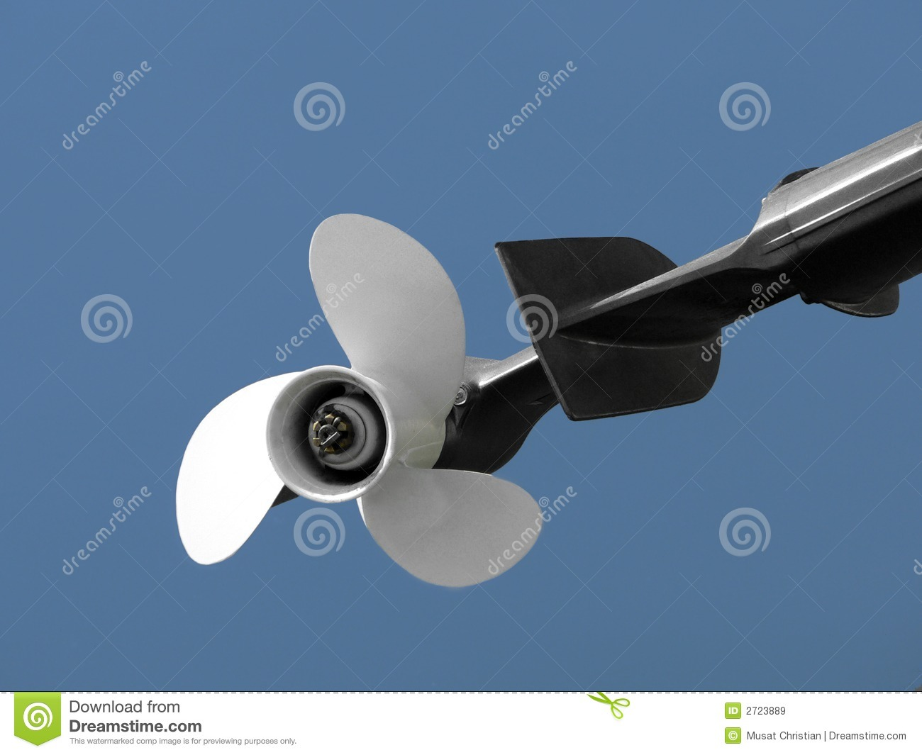 Propeller Of Boat Royalty Free Stock Images - Image: 2723889