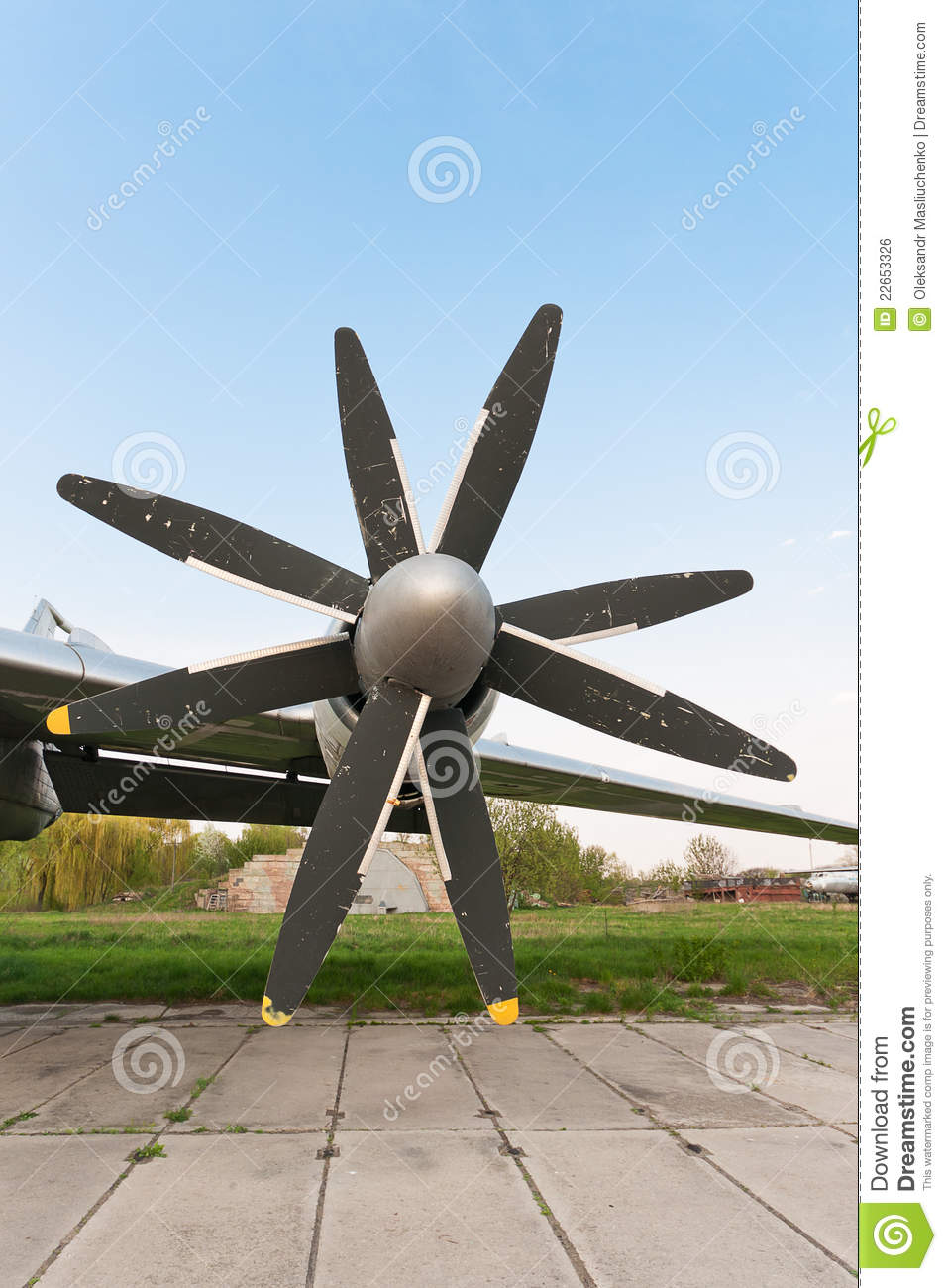 Counter Rotating Propellers : Propellers royalty free stock image