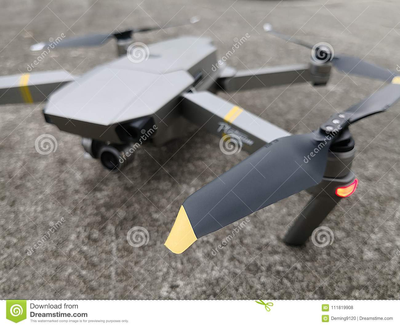 Propellor Blades Of The DJI Mavic Pro Drone Editorial Stock Photo