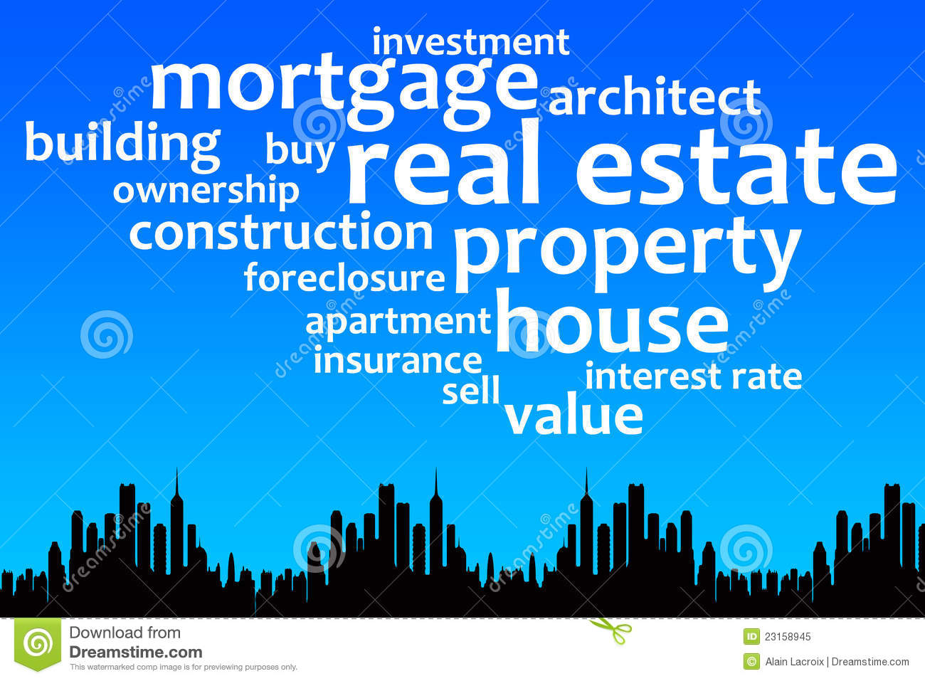 Property royalty free stock photo image 23158945 for Interest only construction loan