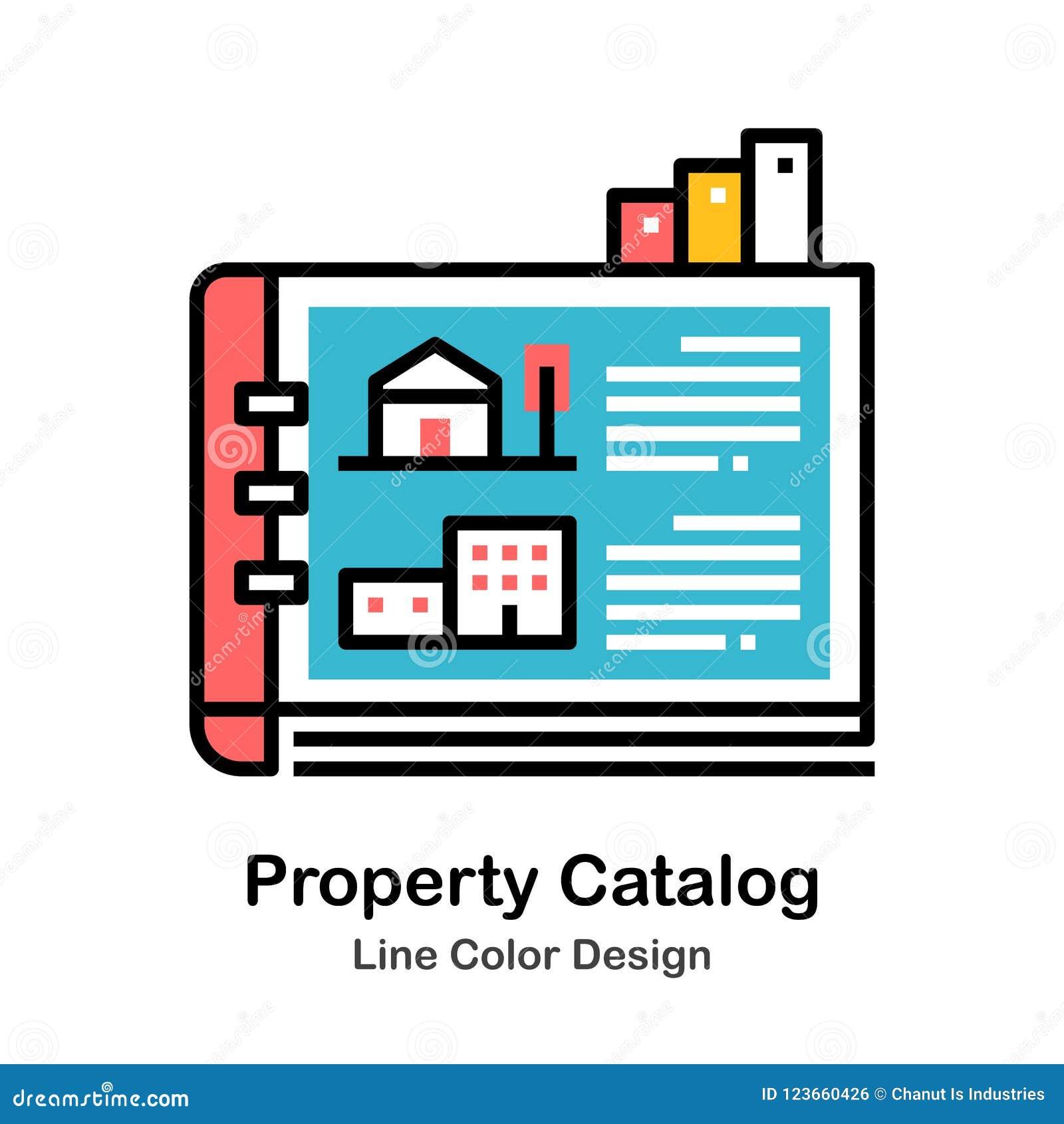 Property Catalog Line Color Icon