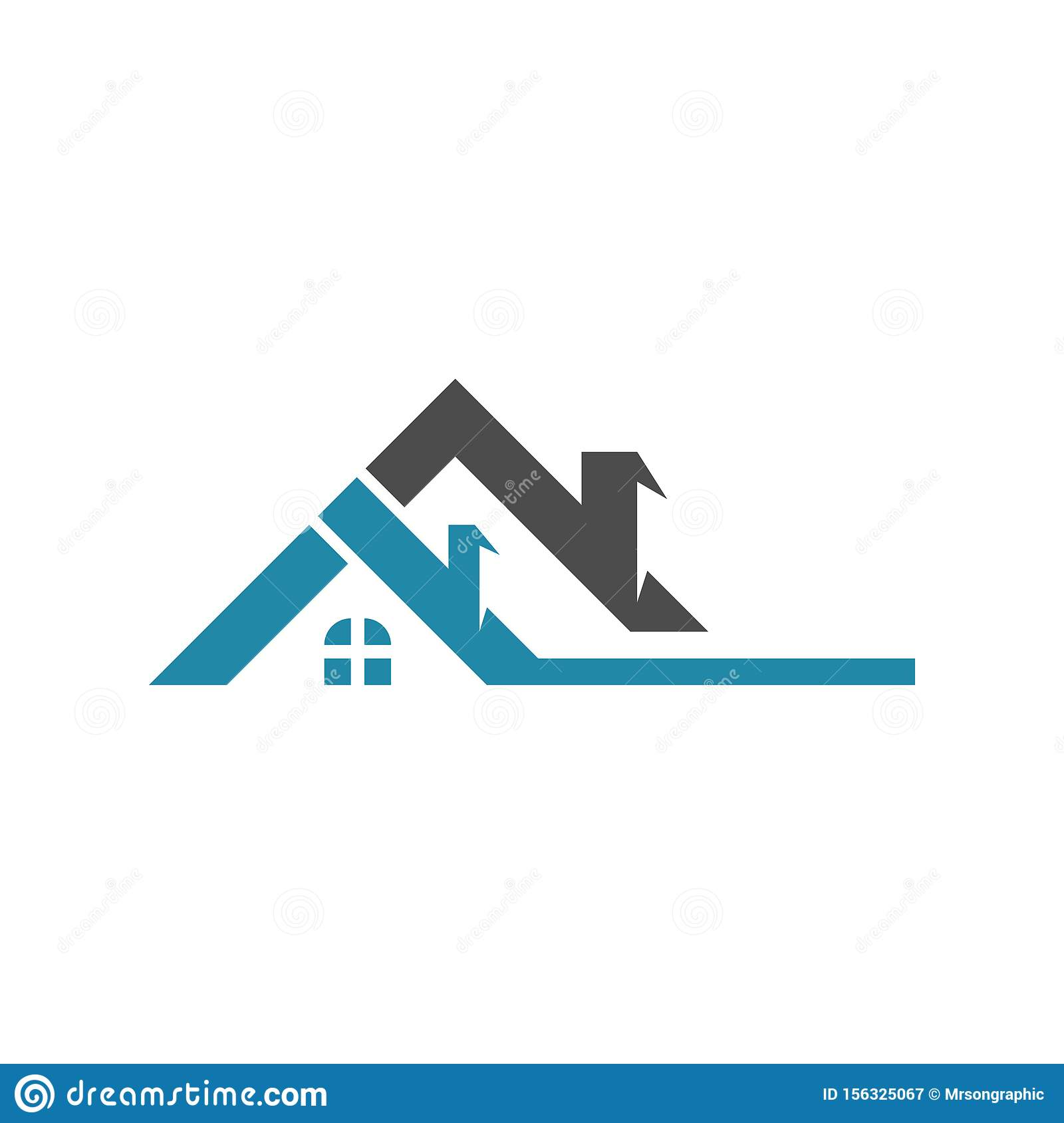 Property And Construction Logo Design Home Stock Vector ...