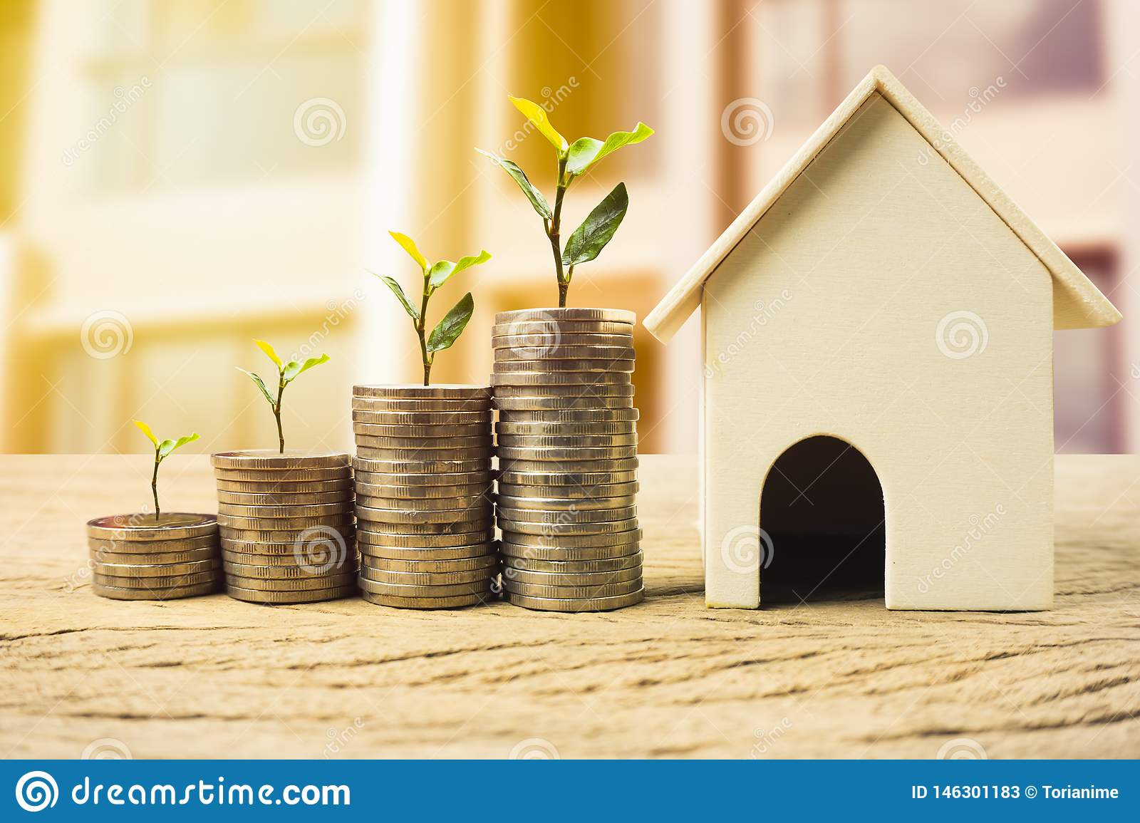 Property investment, home loan, house mortgage ,real estate financial concept