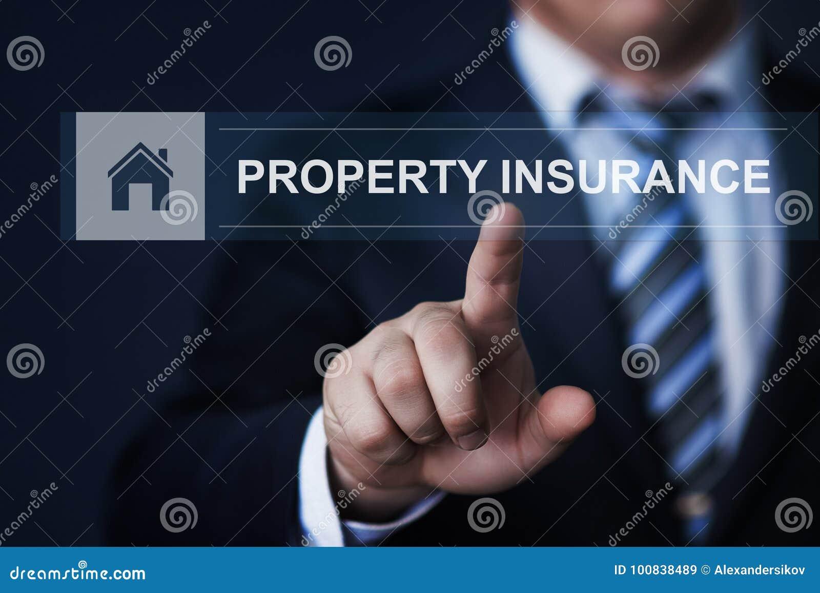 Property Investment Management Real Estate Market Internet Business Technology Concept
