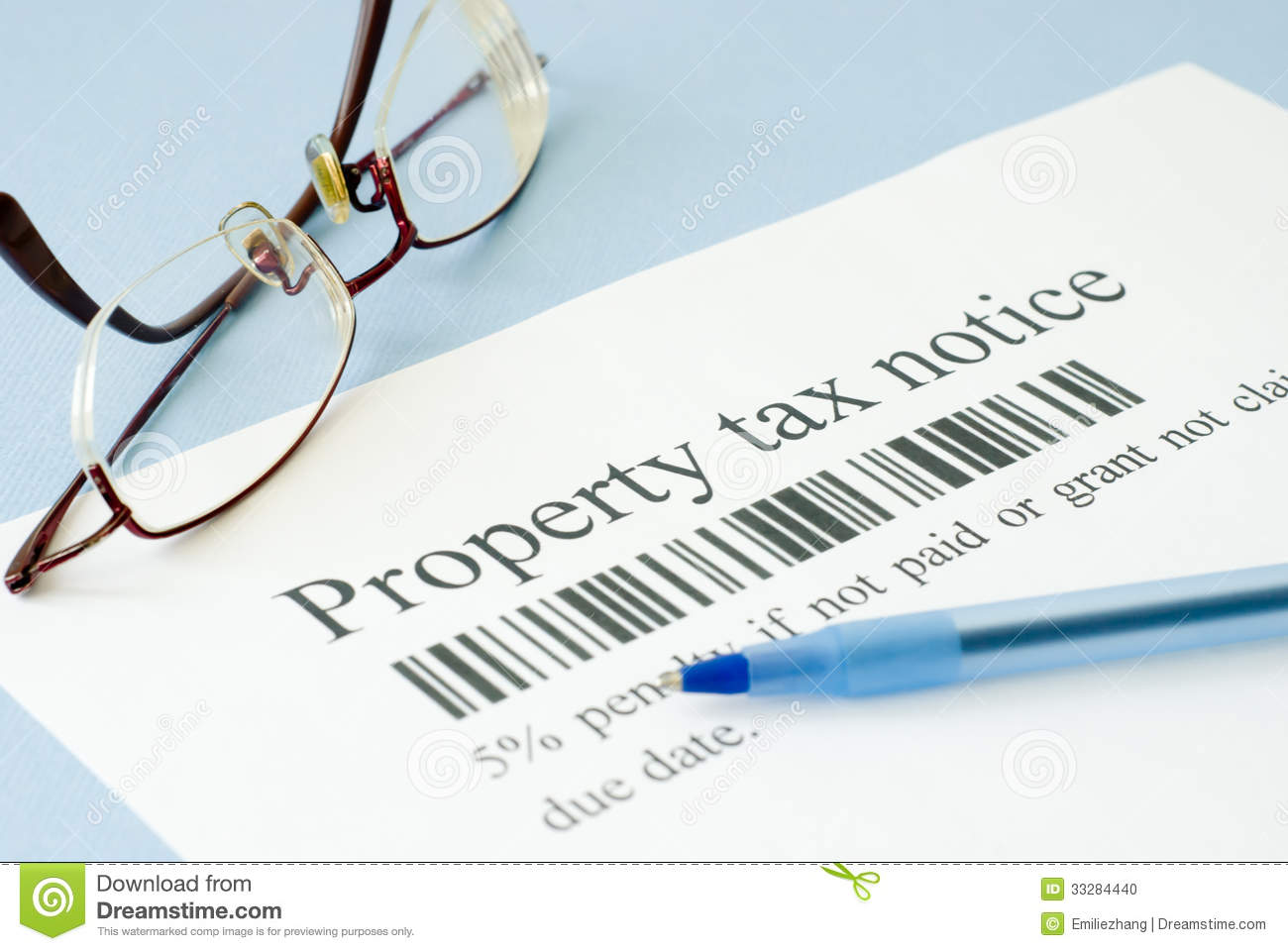 how to get tax assessment notice online